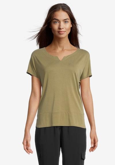 Betty & Co T-Shirt in oliv, Modelansicht