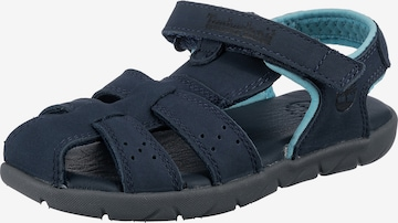 TIMBERLAND Sandals & Slippers 'Fisherman' in Blue