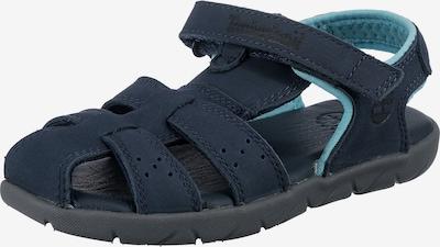 TIMBERLAND Chaussures ouvertes 'Fisherman' en bleu marine / bleu clair, Vue avec produit