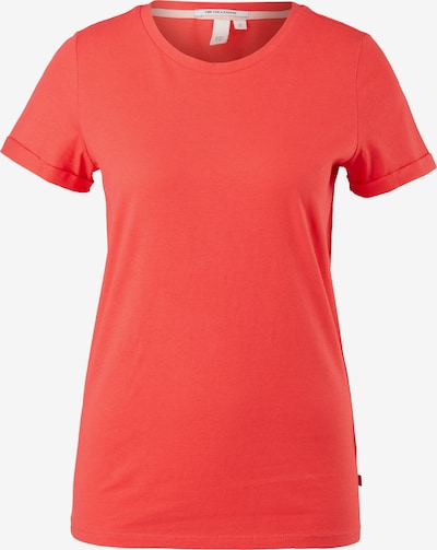 Q/S designed by Shirt in de kleur Rood, Productweergave