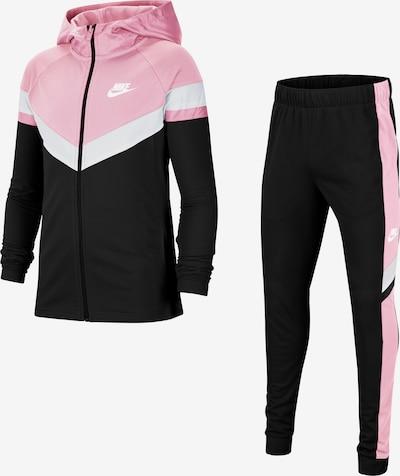 Nike Sportswear Ropa para correr en rosa claro / negro / blanco, Vista del producto