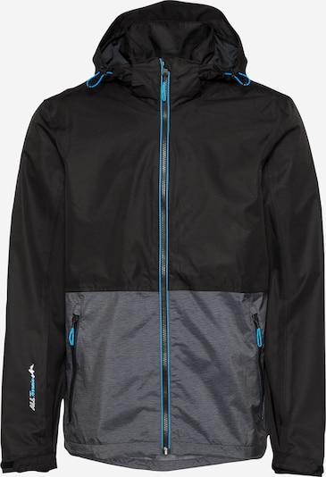 KILLTEC Sportovní bunda - šedý melír / černá, Produkt