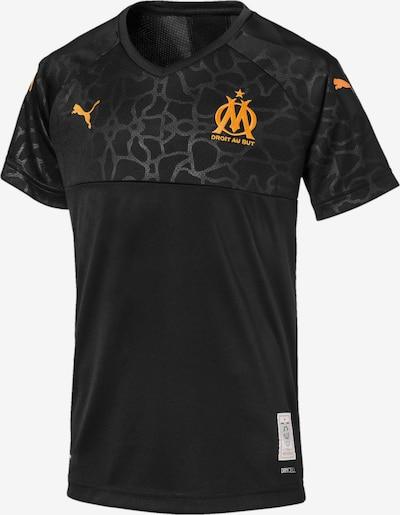 PUMA Ausweichtrikot 'Olympique de Marseille' in orange / schwarz, Produktansicht