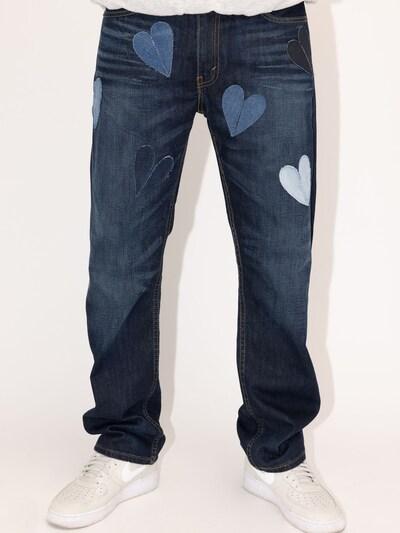 Levi's® Upcycling Jeans 'Kelvyn Colt Design 504' in blue denim: Frontalansicht