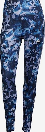 ADIDAS PERFORMANCE Workout Pants in Dark blue / Aubergine, Item view