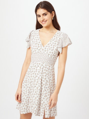 FRENCH CONNECTION Dress 'AURA' in White