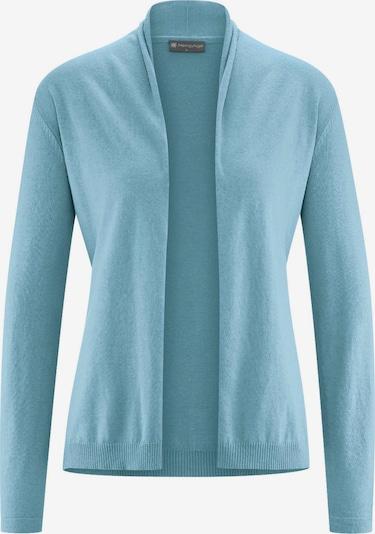 HempAge Jacke ' Knit Jacket ' in hellblau, Produktansicht