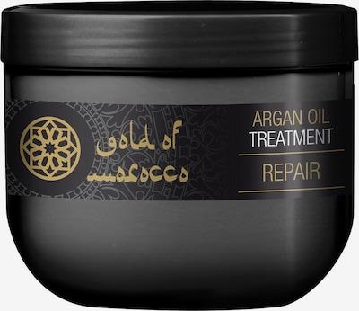 Gold of Morocco Haarkur 'Treatment' in schwarz, Produktansicht