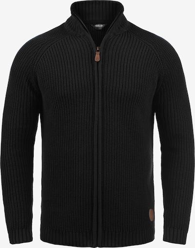 !Solid Gebreid vest 'Xenos' in de kleur Zwart, Productweergave