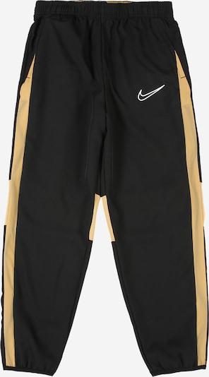 NIKE Sporthose 'Academy' in goldgelb / schwarz, Produktansicht