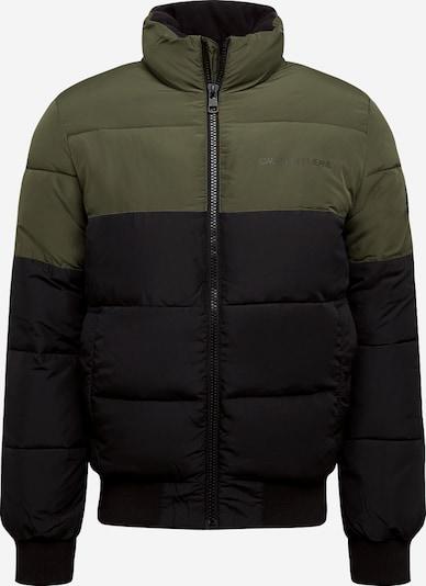 Calvin Klein Jeans Jacke in khaki / schwarz, Produktansicht