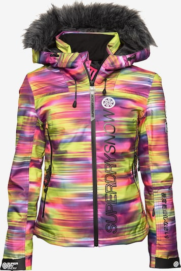 Superdry Snow Outdoorjas in de kleur Gemengde kleuren, Productweergave