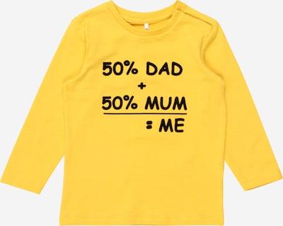 NAME IT Shirt 'Napar' in gelb / schwarz, Produktansicht