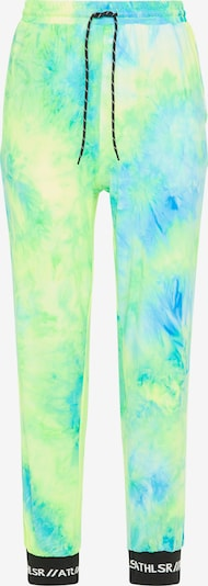 myMo ATHLSR Sports trousers in neon blue / neon green, Item view