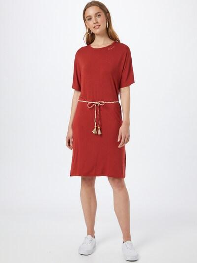 Ragwear Kleid 'KASS' in rostbraun, Modelansicht