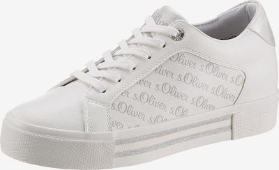 s.Oliver Nízke tenisky - strieborná / biela, Produkt