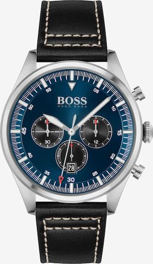 BOSS Casual Uhr 'Pioneer' in navy / grau / schwarz / weiß, Produktansicht