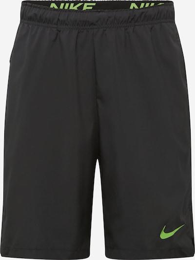 Pantaloni sport 'Flex' NIKE pe verde deschis / negru, Vizualizare produs