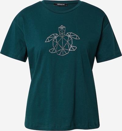 Trendyol Shirt in de kleur Grijs / Smaragd / Wit, Productweergave