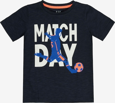 STACCATO Koszulka w kolorze niebieska noc / królewski błękit / łososiowy / białym, Podgląd produktu