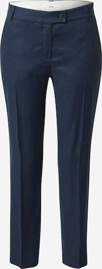 Pantaloni cu dungă 'Maron' BRAX pe indigo, Vizualizare produs