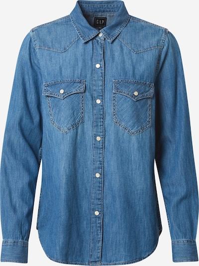 GAP Bluse in blue denim, Produktansicht
