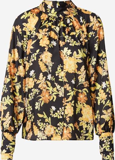 River Island Bluse in gelb / safran / hellgrün / orange / schwarz, Produktansicht