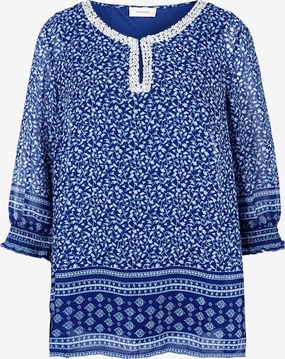 TRIANGLE Bluse in blau / weiß, Produktansicht