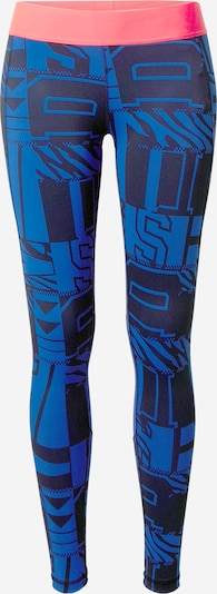 ADIDAS PERFORMANCE Leggings in royalblau / lachs / schwarz, Produktansicht