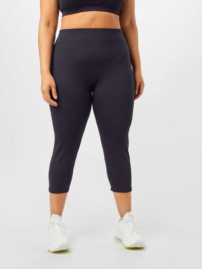 NIKE Sportovní kalhoty 'One' - černá / bílá, Model/ka