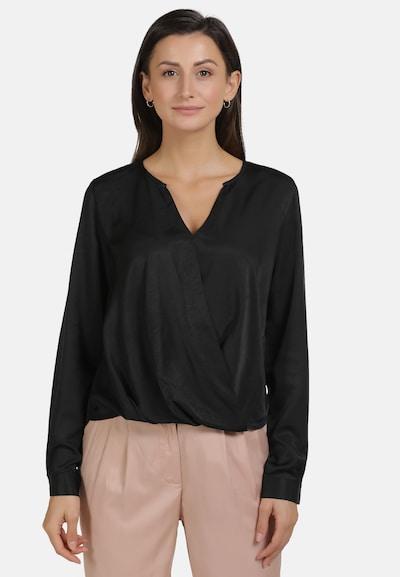 usha WHITE LABEL Bluse in schwarz, Modelansicht
