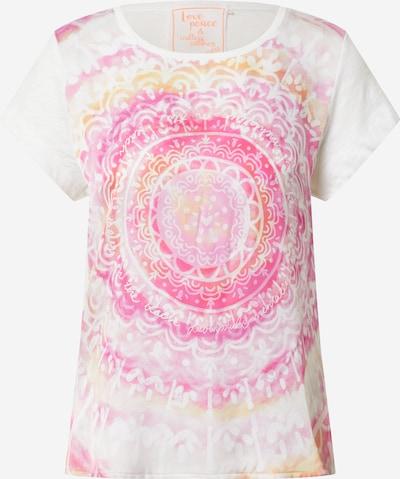 LIEBLINGSSTÜCK Bluse 'Daleni' in pink / offwhite, Produktansicht