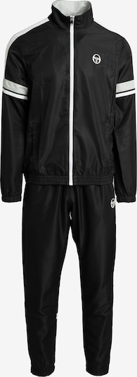 Sergio Tacchini Trainingsanzug 'Cryo' in schwarz / weiß, Produktansicht