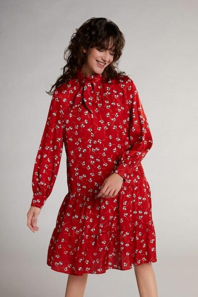 OUI Blusenkleid im Blümchendruck in rot, Modelansicht