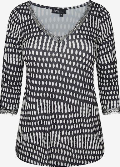 SPGWOMAN Shirt in schwarz, Produktansicht