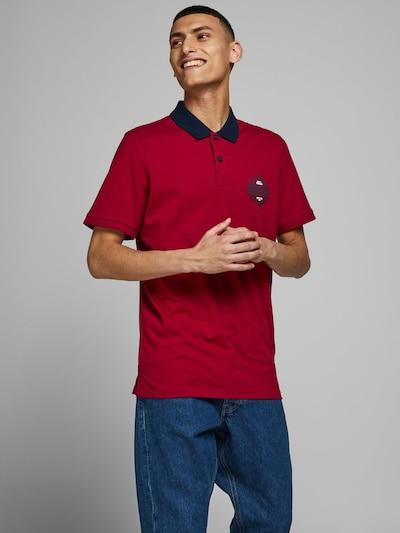 JACK & JONES Shirt in de kleur Blauw / Rood / Wit: Vooraanzicht