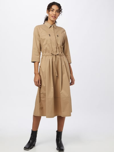 Rochie tip bluză 'AIMIE' BOGNER pe maro cămilă, Vizualizare model