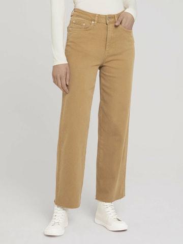 TOM TAILOR DENIM Jeans in Beige