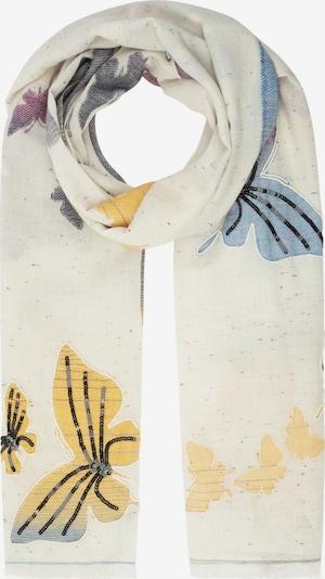 APART Schal mit Schmetterlingen in mischfarben, Produktansicht