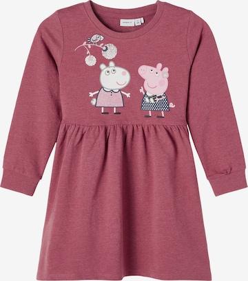 rozā NAME IT Kleita 'Peppa Pig Sanna'