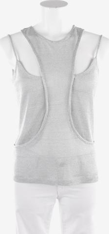 Plein Sud Top / Seidentop in S in Silber