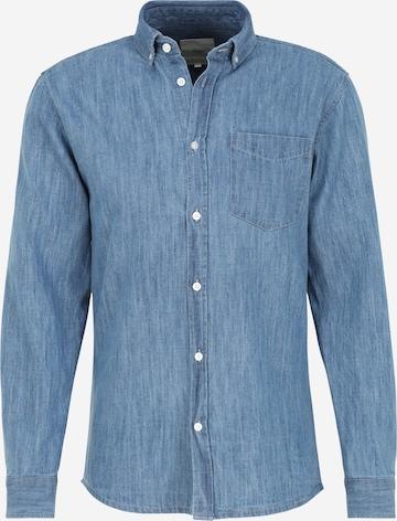 minimum Hemd 'WOODLEE' in Blau