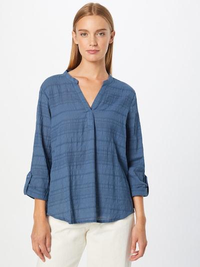 Fransa Bluse 'BACOT' in blau, Modelansicht