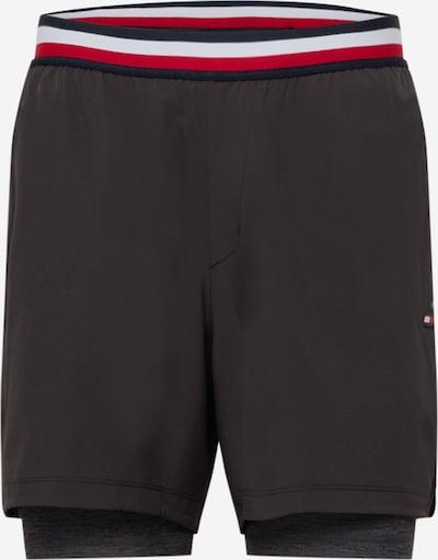 Pantaloni sport Tommy Sport pe bleumarin / roșu / negru / alb, Vizualizare produs