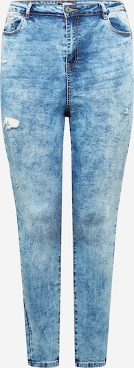 Missguided Plus Jeans in blue denim, Produktansicht