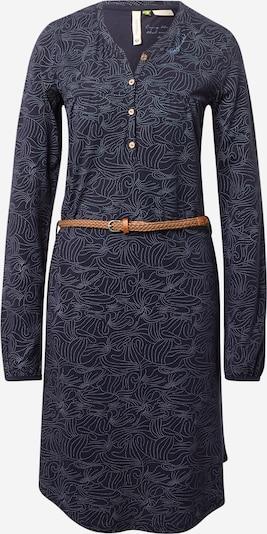 Ragwear Kleid 'Zofka' in navy / hellblau, Produktansicht