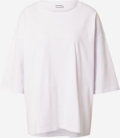 Noisy may T-shirt 'HAILEY' en blanc, Vue avec produit