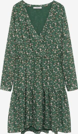 VIOLETA by Mango Kleid 'Isabel 8' in braun / grün / schwarz / weiß, Produktansicht