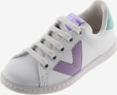VICTORIA Sneaker in hellgrün / helllila / weiß, Produktansicht