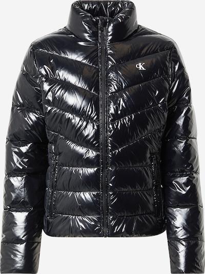 Calvin Klein Jeans Přechodná bunda - černá / bílá, Produkt